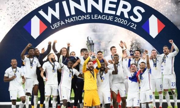 UEFA nations league winners France