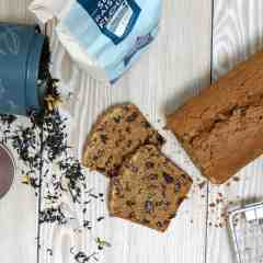 Bara Brith; gluten free and dairy free, also fat free to!