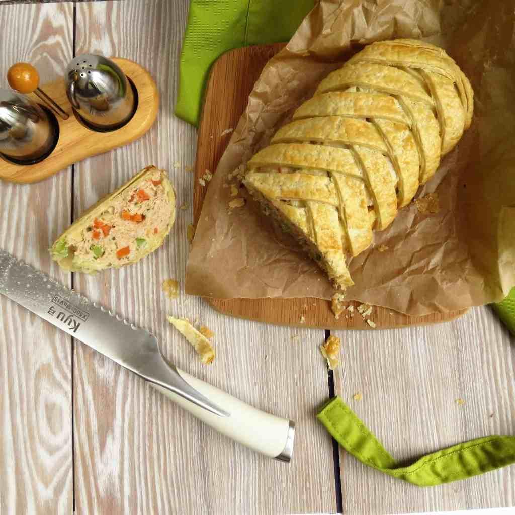 Gluten Free Sausage Plait - National Picnic Week