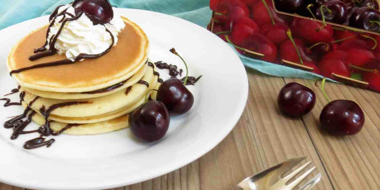 Scotch Pancakes; gluten free and made in minutes