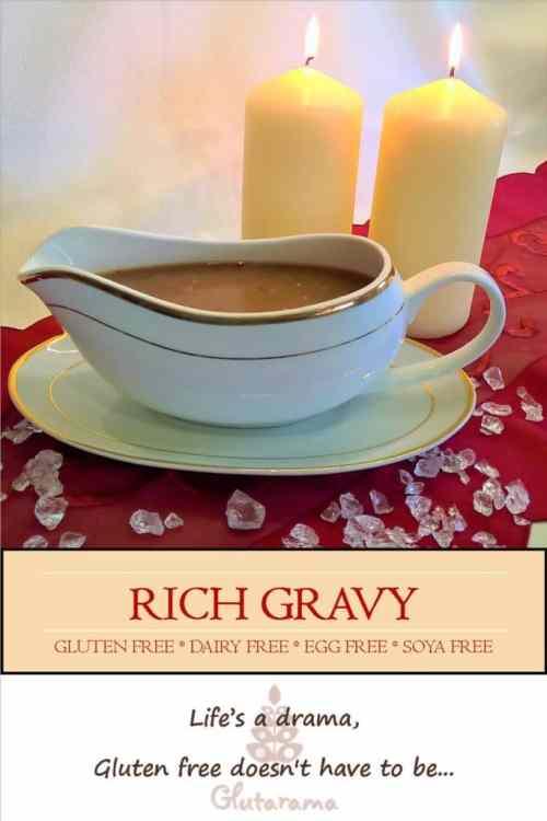 Gluten Free Rich Gravy