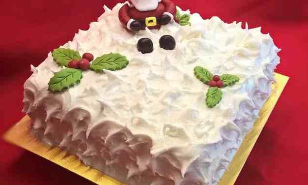 Glutarama Christmas Cake