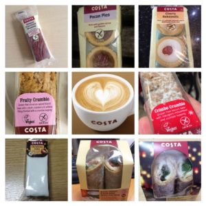 Costa Gluten Free Products