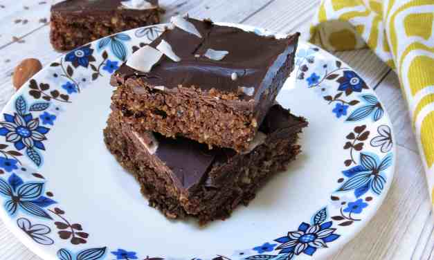 Raw Chocolate Snack Squares