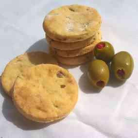 Feta & Olive Crakers