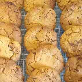 Choc & Nut Cookies