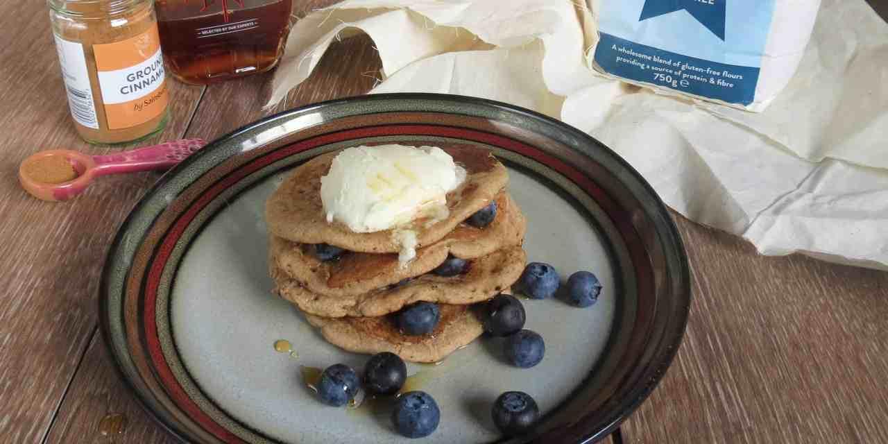 Apple Cinnamon Pancakes | gluten free, dairy free, vegan