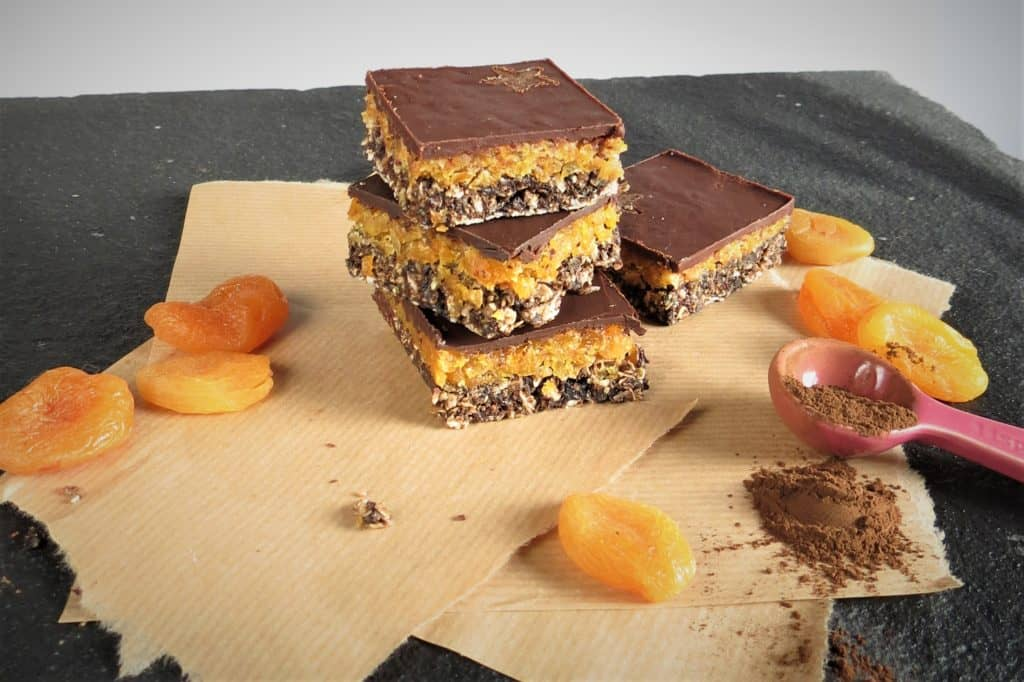 Apricot Cacao Raw Squares 1