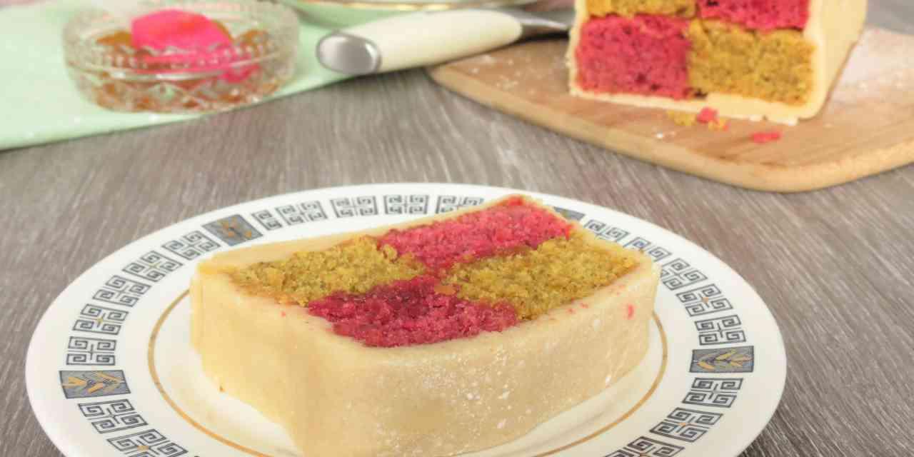 Easy Free From Battenburg Cake