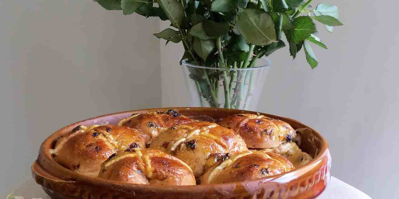 Heavenly Hot Cross Butter Pudding; Free From