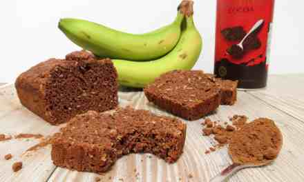Tropical Chocolate Banana Bread: free from and vegan