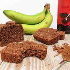 Gluten Free Tropical Banana Bread that's also dairy free and vegan too