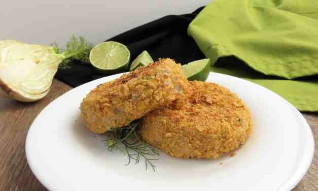 Fennel Fish Cakes; gluten free, dairy free and potato free!