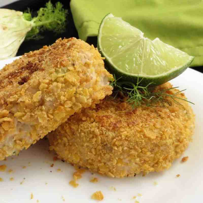 Fennel Fish Cakes; gluten free, dairy free, potato free. Delicious and simple to make