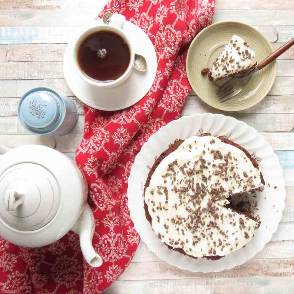 Chocolate Beetroot Brownie Cake - gluten free and vegan