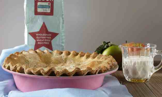 Old Fashioned Apple Pie; free from dairy and gluten