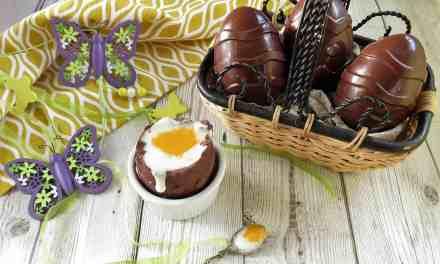 Supersize Creme Egg; gluten free, dairy free and vegan