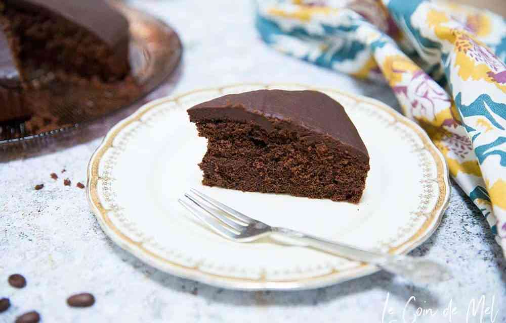 Mocha Cake; vegan and gluten free