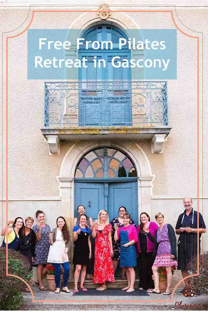 Pilates Retreat with Free From Food; beautiful Gascony in France, catering to take into consideration all allergens, peacuful setting and Pilates...what more could you wish for #Pilates #FreeFrom #14Allergens #Retreat #Gascony #France #Relax #Unwind