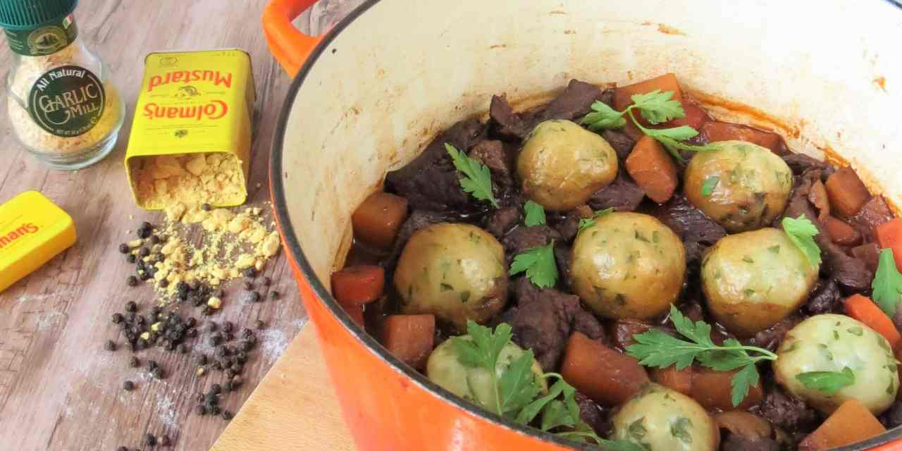 Beef Stew and Dumplings | gluten and dairy free
