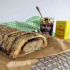 Sausage and Chutney Roll - National Picnic Week