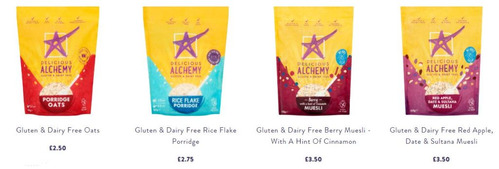 Delicious Alchemy Breakfast Products