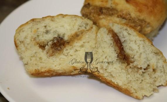 Gluten-Free Banana Praline Muffin