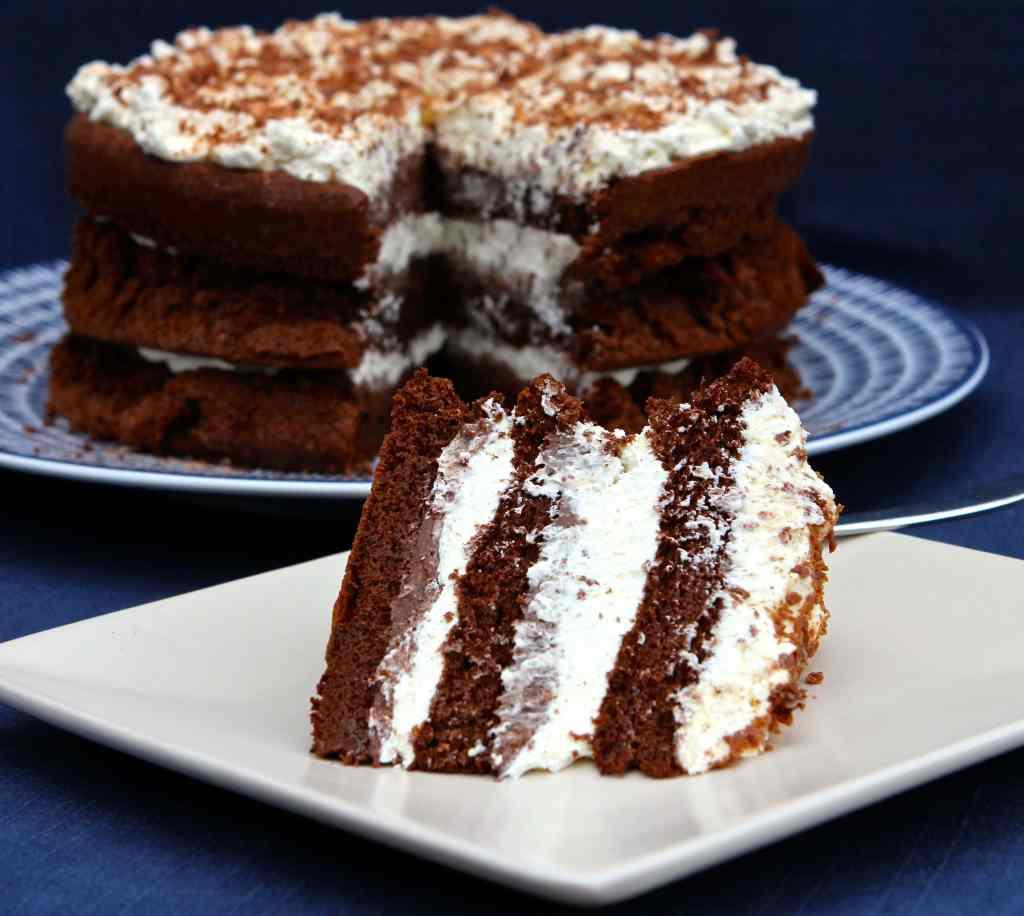 Squidgy Chocolate Cake - flourless