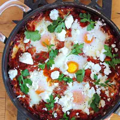 Let's Shakshuka!  Why Eggs and Tomatoes Make Such a Great Meal