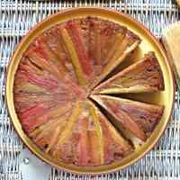 rhubarb-upside-down-cake-gluten-free