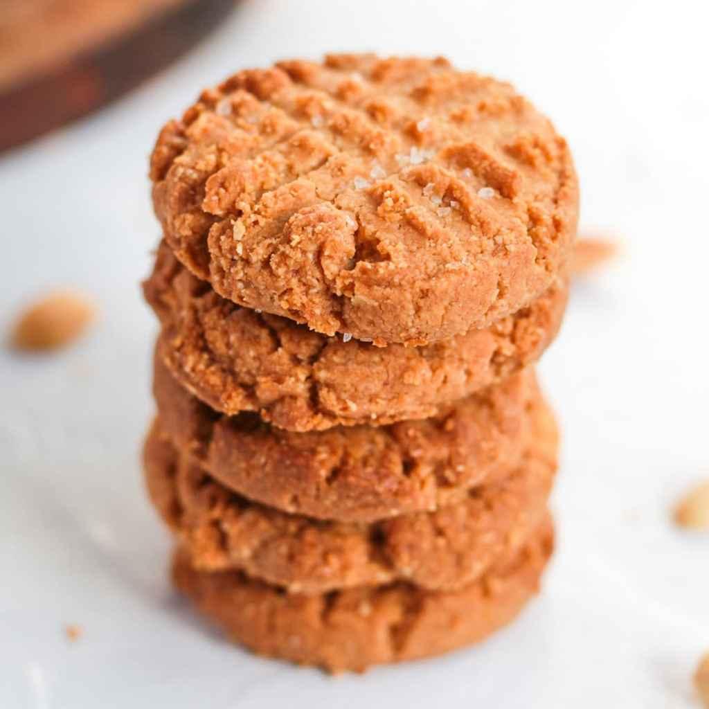 Almond-Peanut-Butter-Cookies
