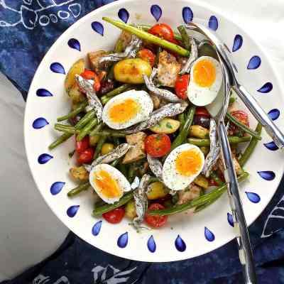 Tuna Niçoise Salad – With Fresh Tuna