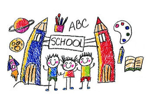 school-child-drawing