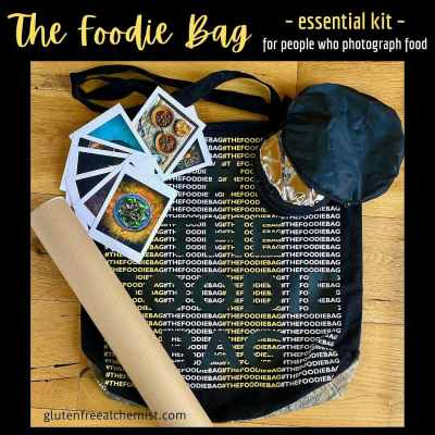 The Foodie Bag – Essential Kit for People Who Photograph Food