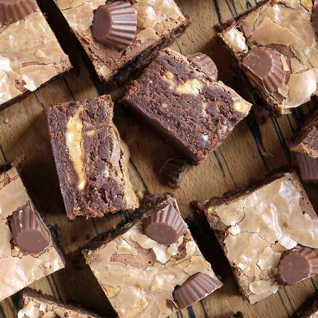 perfect-peanut-butter-brownies