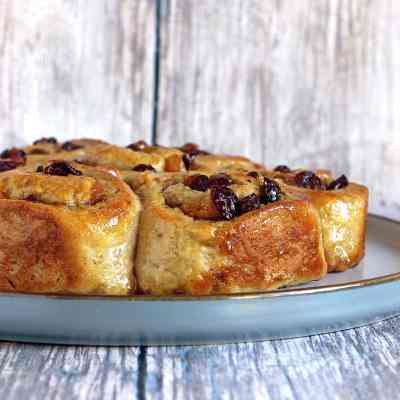 Gluten Free Chelsea Buns – A childhood recipe de-glutened