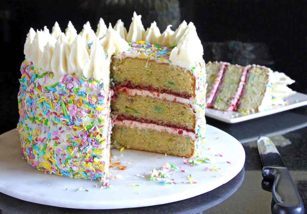 vanilla-confetti-cake