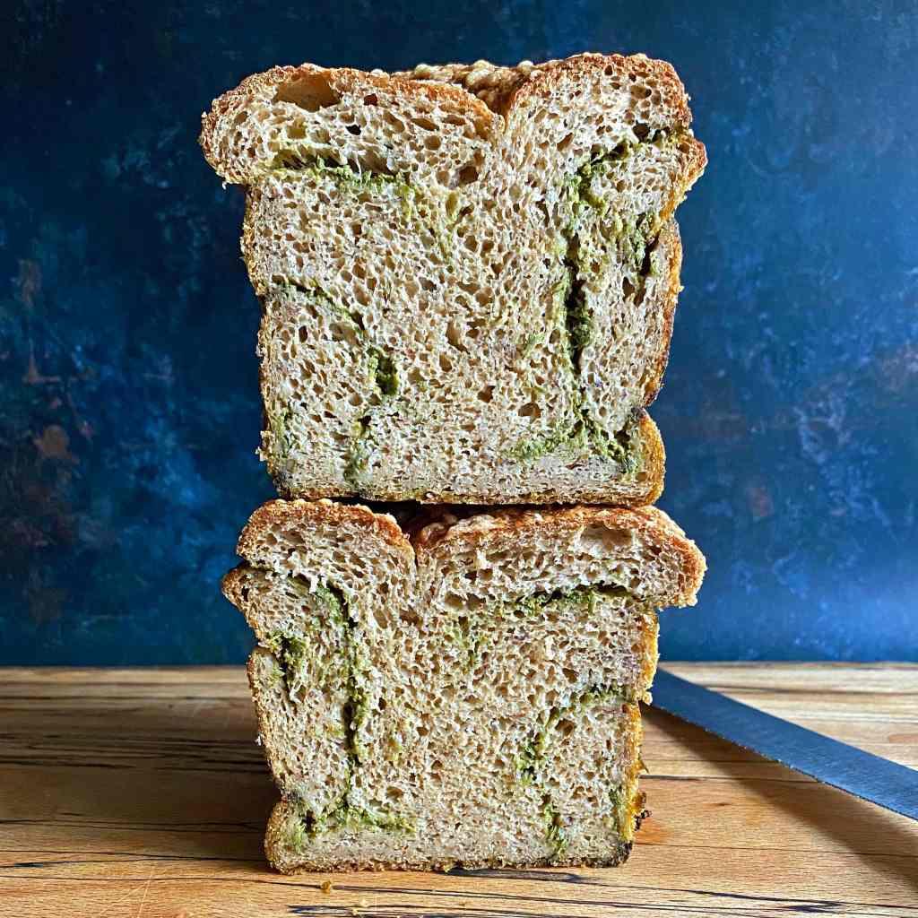 green-pesto-babka-gluten-free