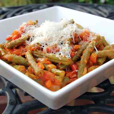 Green Beans and Tomatoes – An Authentic Italian Recipe