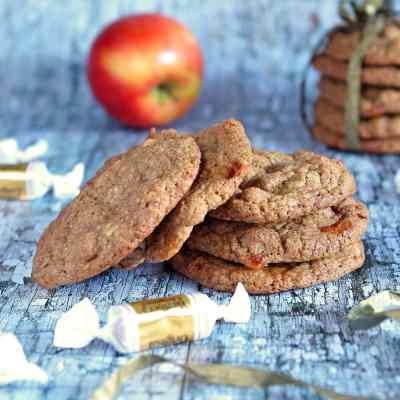Chewy Toffee Apple Cookies – Gluten Free