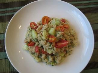 Quinoa Tahini Salad
