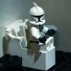 Storm Trooper in Restroom