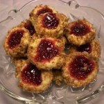 Almond Thumbprint Cookies 3