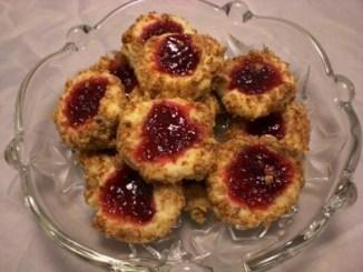 Almond Thumbprint Cookies 3