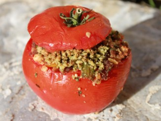 Sausage Stuffed Tomatoes1