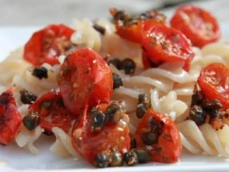 Tomato Caper Pasta1