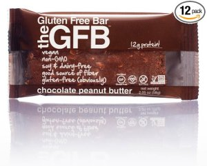 The GFB: Gluten Free Bar, Chocolate Peanut Butter, 2.05 Ounce (Pack of 12)