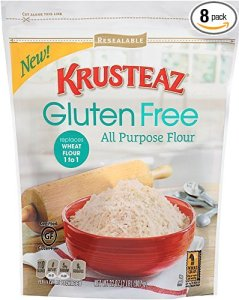 Krusteaz Gluten Free All Purpose Flour Mix, 32 Ounce (Pack of 8) from Krusteaz