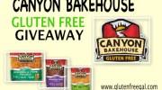 CANYON BAKEHOUSE GLUTEN FREE GIVEAWAY