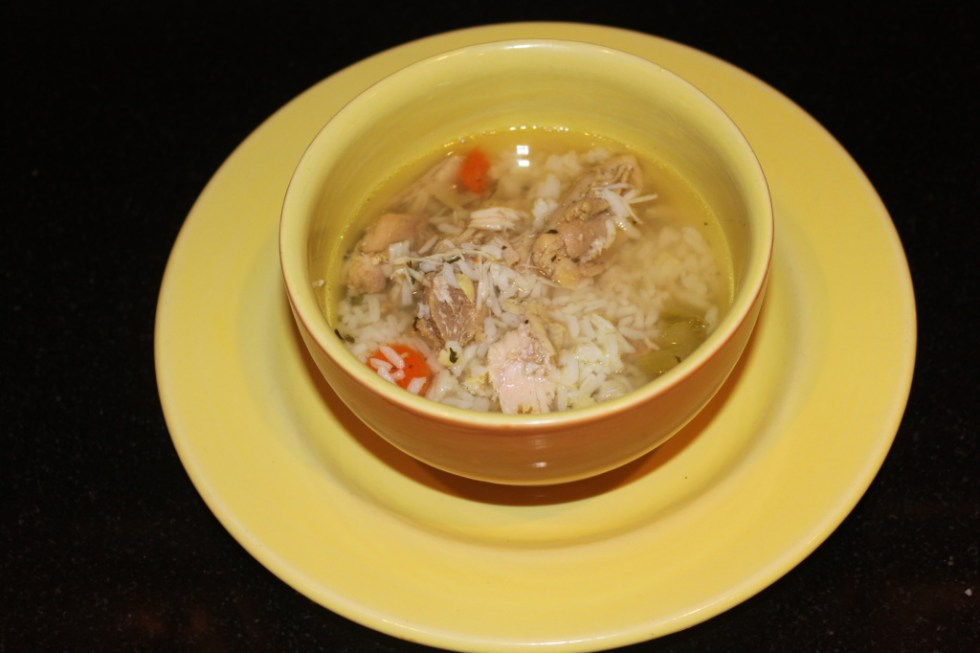 Gluten Free Chicken and Rice Soup